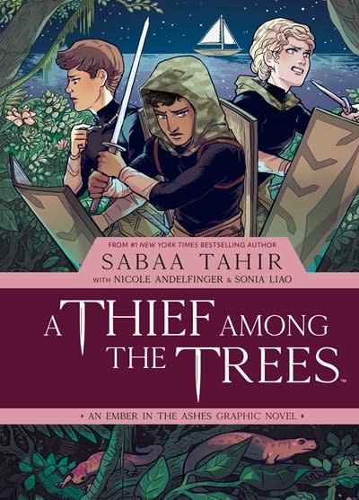 Archaia A Thief Among the Trees: An Ember in the Ashes Graphic Novel