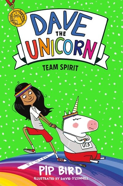 Imprint Dave the Unicorn: Team Spirit