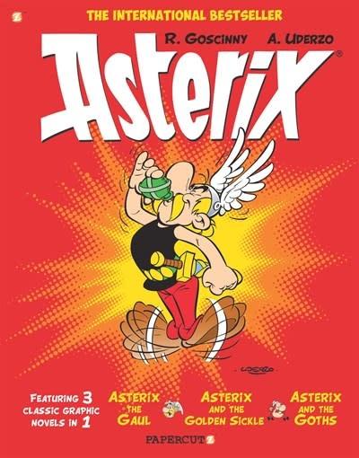 Papercutz Asterix Omnibus #1