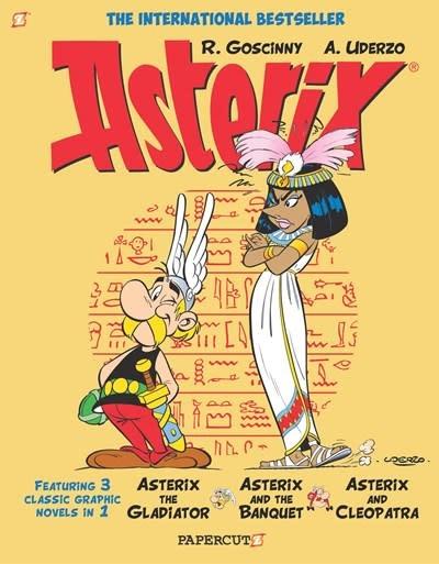 Papercutz Asterix Omnibus #2