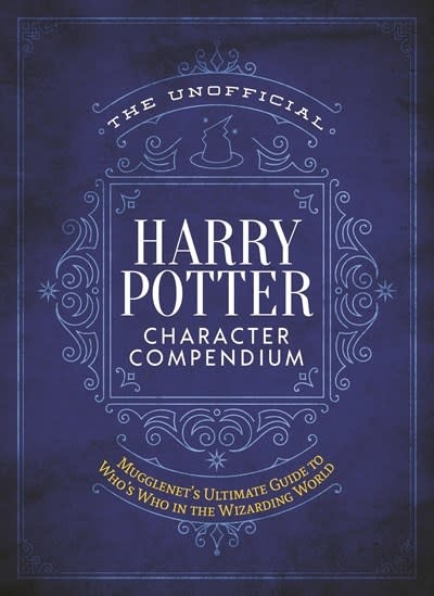 Media Lab Books The Unofficial Harry Potter Character Compendium