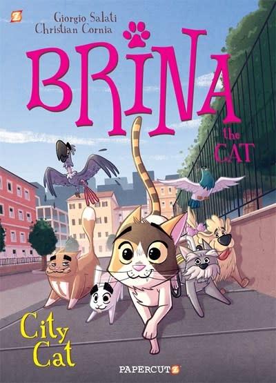 Papercutz Brina the Cat #2