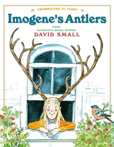 Knopf Books for Young Readers Imogene's Antlers
