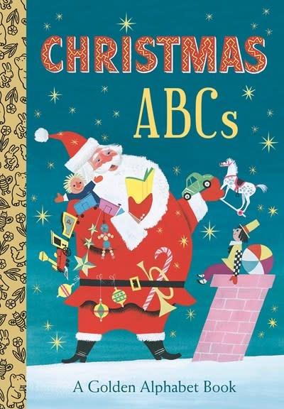 Golden Books Christmas ABCs: A Golden Alphabet Book