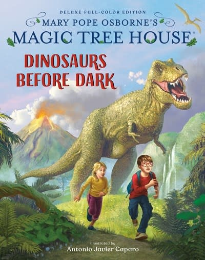 Random House Books for Young Readers Magic Tree House Deluxe Edition: Dinosaurs Before Dark