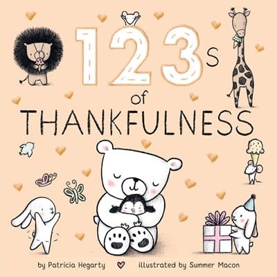 Rodale Kids 123s of Thankfulness (Board Book)
