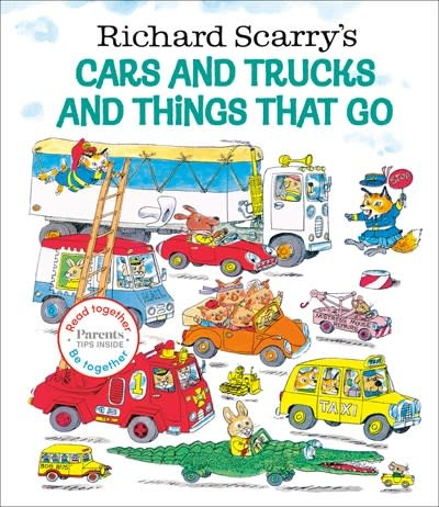 Random House Books for Young Readers Richard Scarry's Cars and Trucks and Things That Go: Read Together Edition
