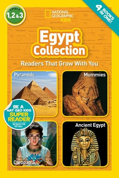 National Geographic Children's Books Egypt Collection (National Geographic Readers, Levels 1, 2, & 3)