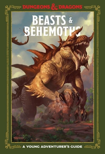 Ten Speed Press Beasts & Behemoths (Dungeons & Dragons)