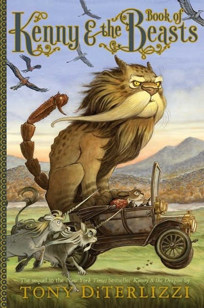 Simon & Schuster Books for Young Readers Kenny & the Book of Beasts