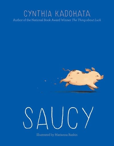Atheneum/Caitlyn Dlouhy Books Saucy