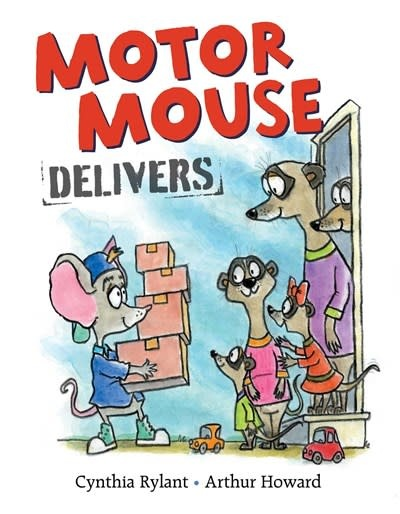 Beach Lane Books Motor Mouse Delivers