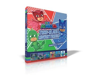 Simon Spotlight PJ Masks Take-Along Adventures!
