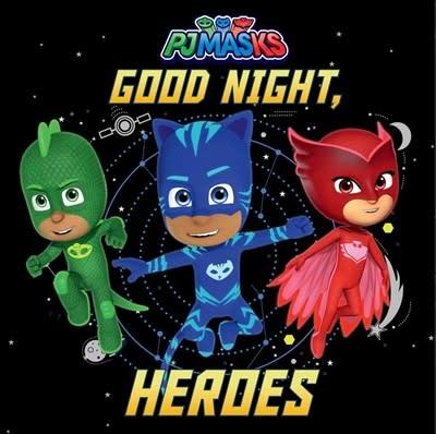 Simon Spotlight Good Night, Heroes
