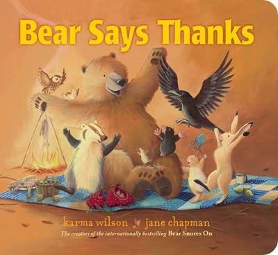 Little Simon Bear Says Thanks