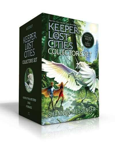 Aladdin Keeper of the Lost Cities Collector's Set