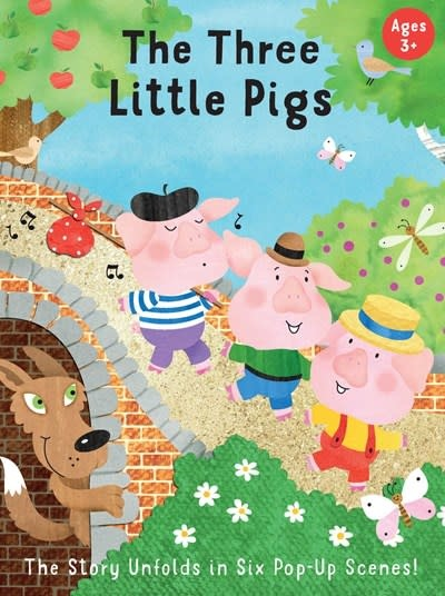 Insight Editions Fairytale Carousel: The Three Little Pigs