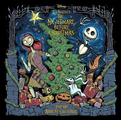 Insight Editions The Nightmare Before Christmas: Pop-Up Book and Advent Calendar