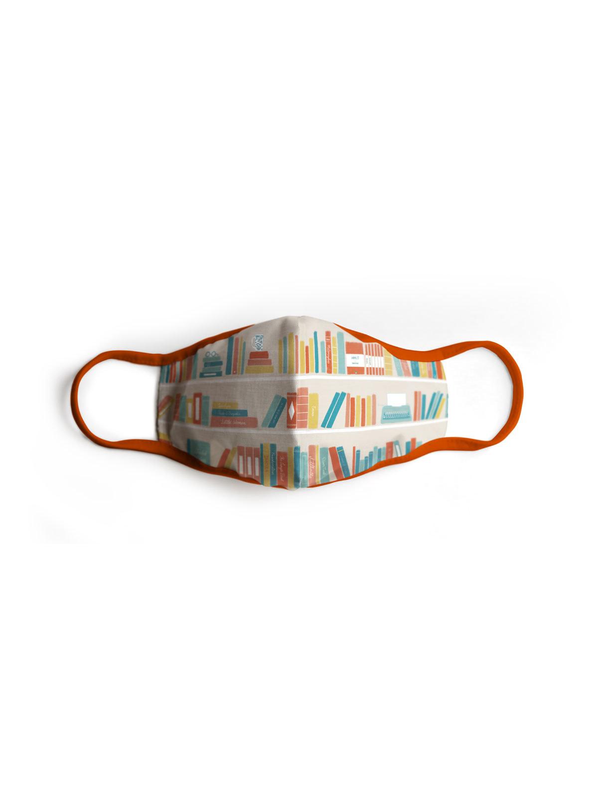 Bookshelf Face Mask