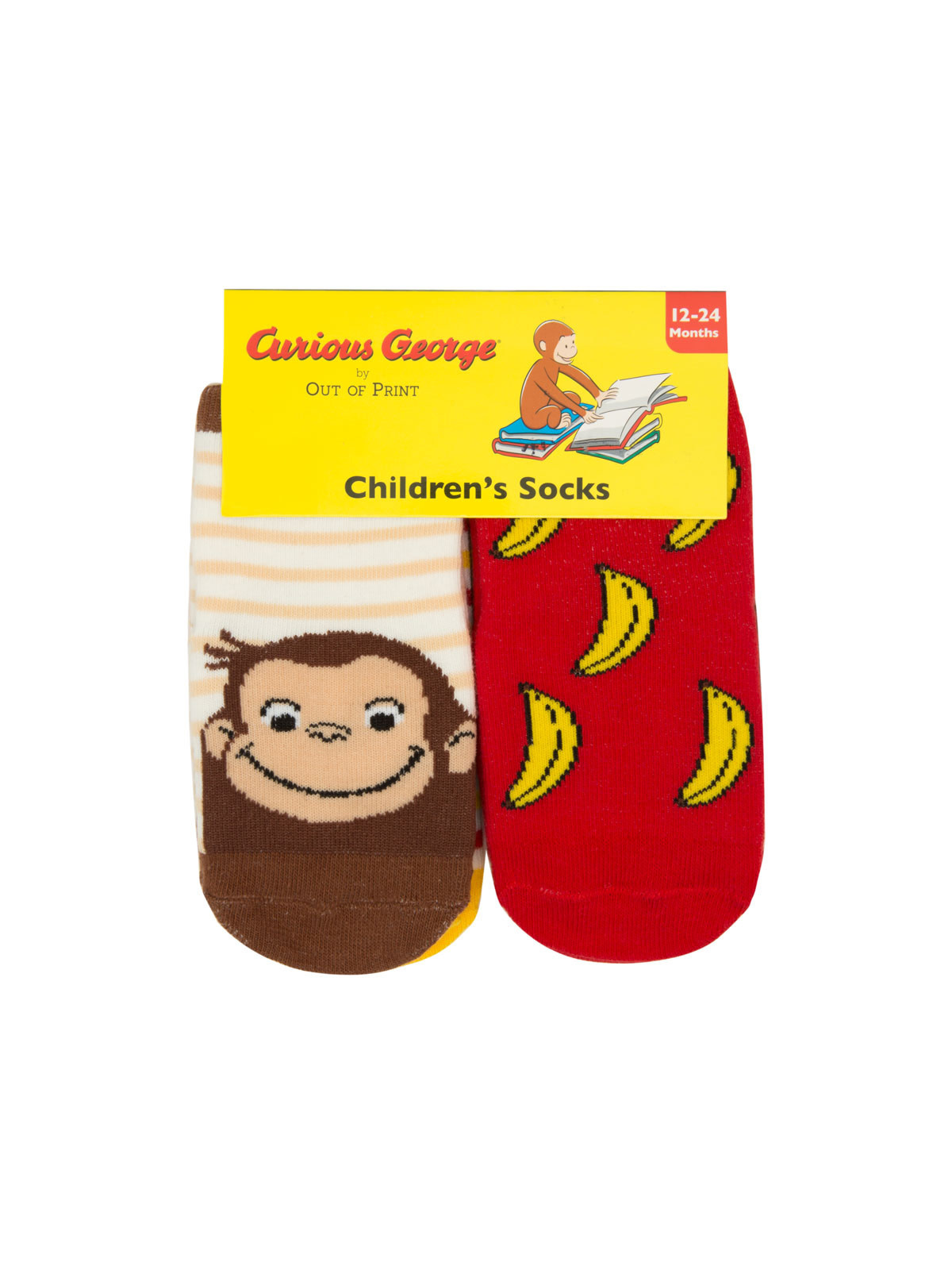 Curious George Kids Socks