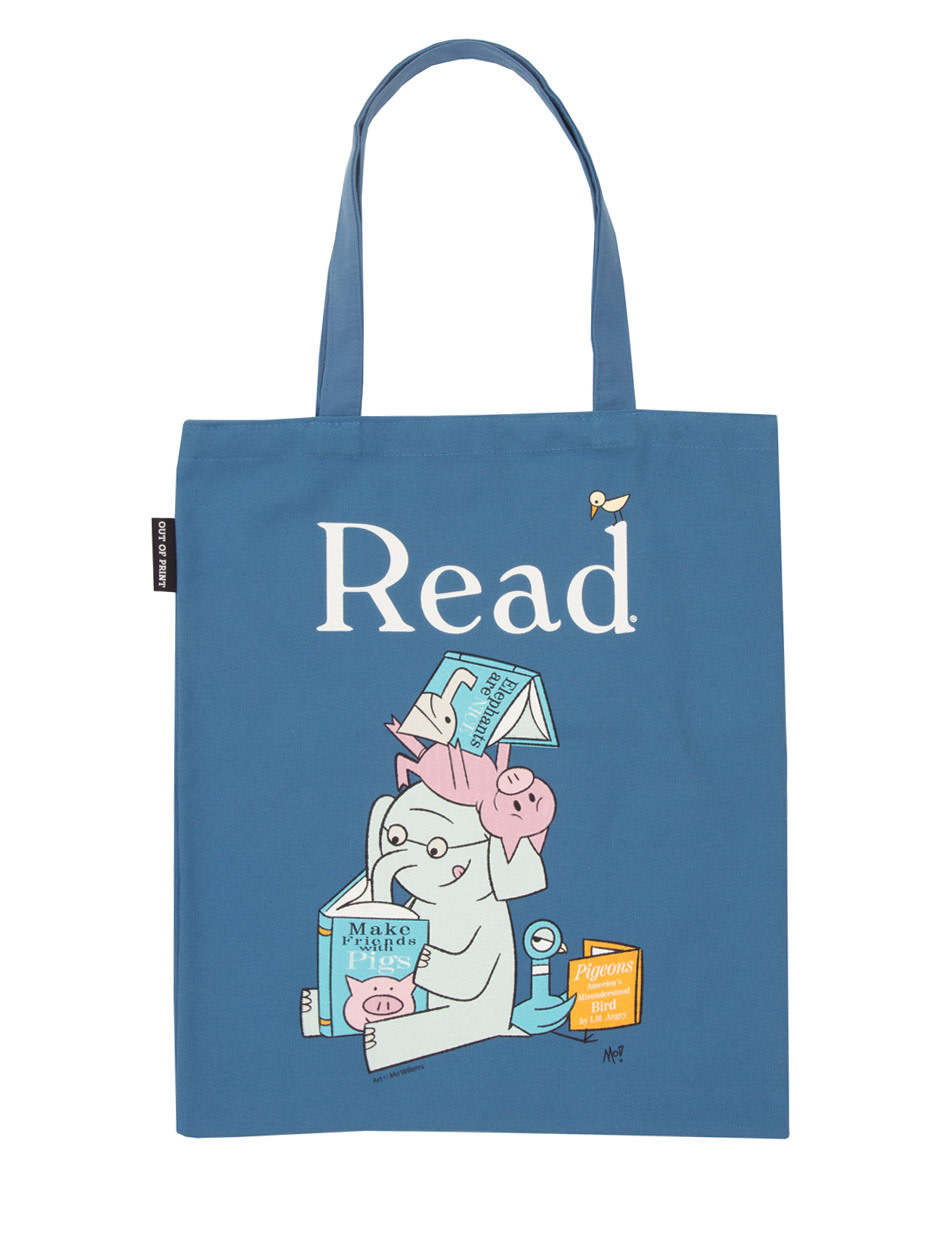Out of Print Elephant And Piggie Read Tote