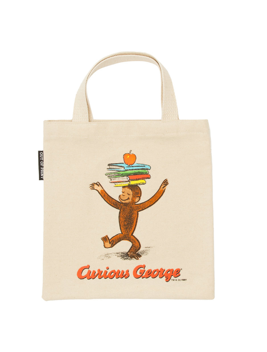 Out of Print Curious George Kids Tote
