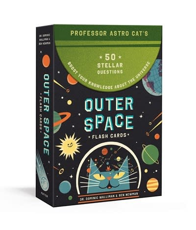 Clarkson Potter Professor Astro Cat's Outer Space Flash Cards