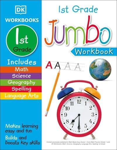 DK Children Jumbo 1st Grade Workbook