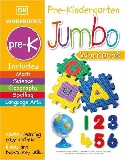 DK Children Jumbo Pre Kindergarten Workbook