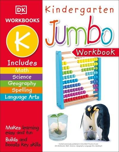 DK Children Jumbo Kindergarten Workbook
