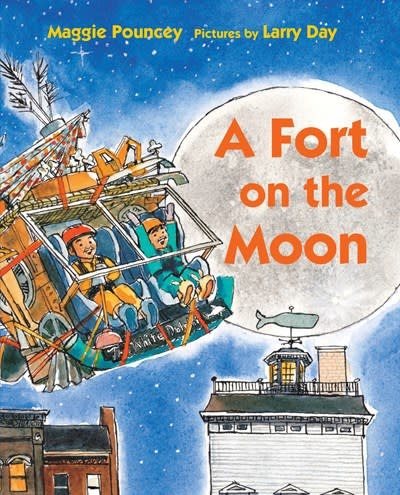 Neal Porter Books A Fort on the Moon