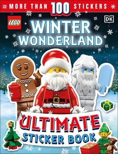 DK Children LEGO Winter Wonderland Ultimate Sticker Book
