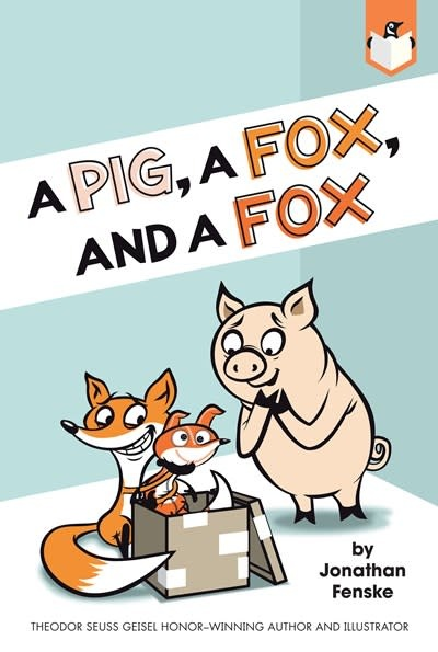 Penguin Workshop A Pig, a Fox, and a Fox (Penguin Early Reader)