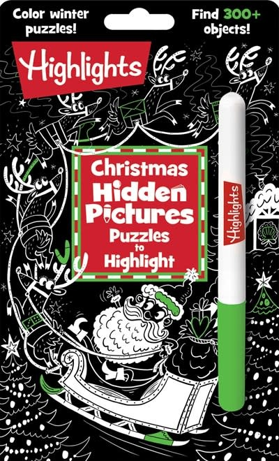 Highlights Press Christmas Hidden Pictures Puzzles to Highlight