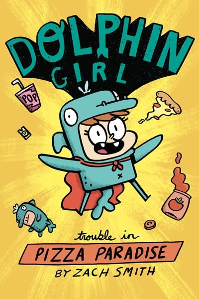 Pixel+Ink Dolphin Girl 1: Trouble in Pizza Paradise!