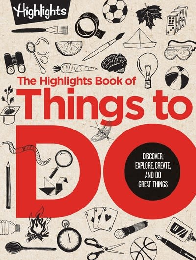 Highlights Press The Highlights Book of Things to Do