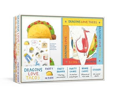 Clarkson Potter Dragons Love Tacos Party-in-a-Box