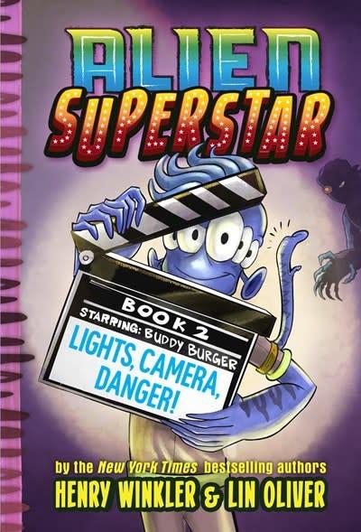 Amulet Books Lights, Camera, Danger! (Alien Superstar #2)