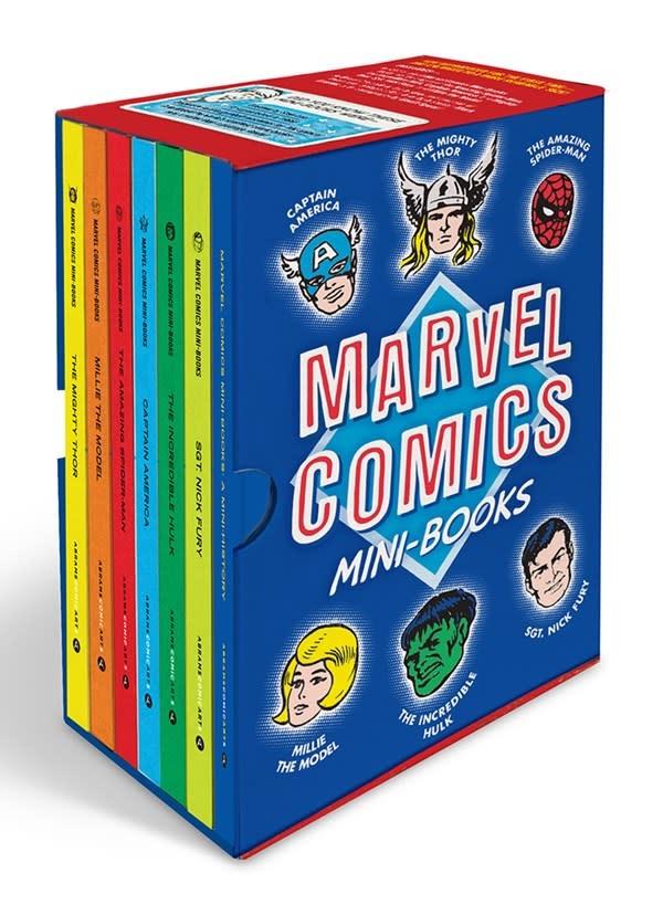 Abrams ComicArts Marvel Comics Mini-Books Collectible Boxed Set