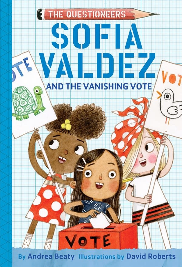 Amulet Books The Questioneers: Sofia Valdez and the Vanishing Vote
