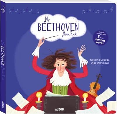 Auzou My Beethoven Music Book