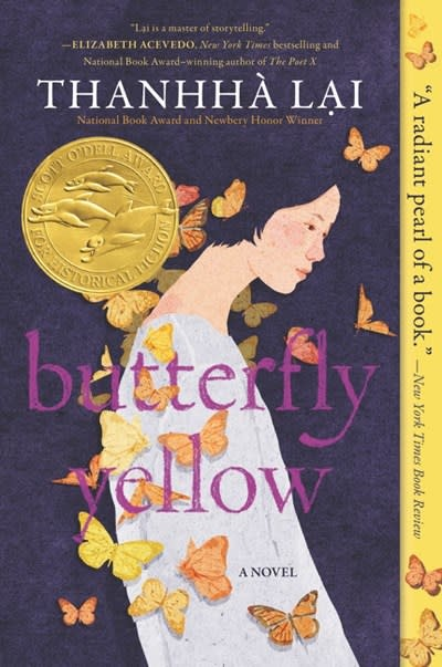 HarperCollins Butterfly Yellow