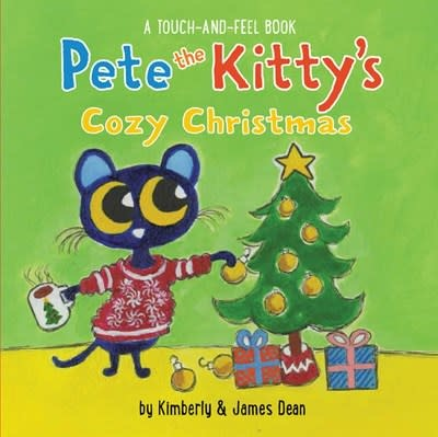 HarperFestival Pete the Kitty's Cozy Christmas Touch & Feel Board Book
