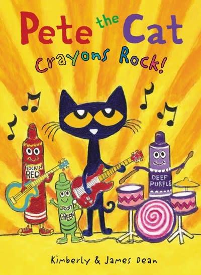HarperCollins Pete the Cat: Crayons Rock!