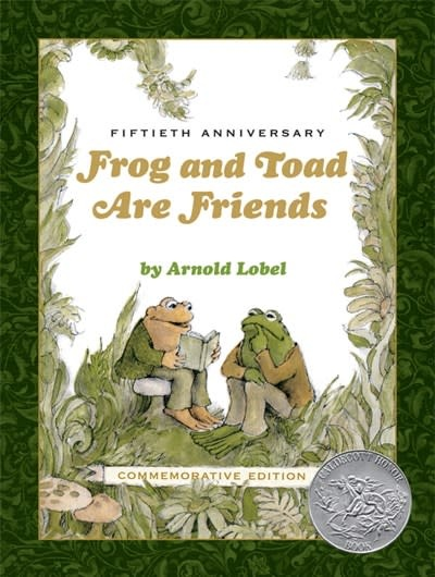 HarperCollins Frog and Toad Are Friends 50th Anniversary Commemorative Edition