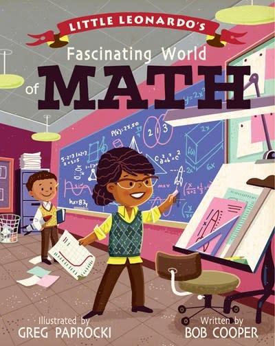 Gibbs Smith Little Leonardo's Fascinating World of Math