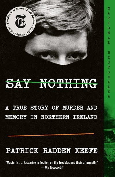 Anchor Say Nothing: A True Story of Murder & Memory in Northern Ireland