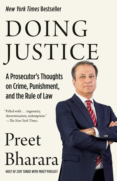 Vintage Doing Justice: A Prosecutor's Thoughts on Crime, Punishment, and the Rule of Law