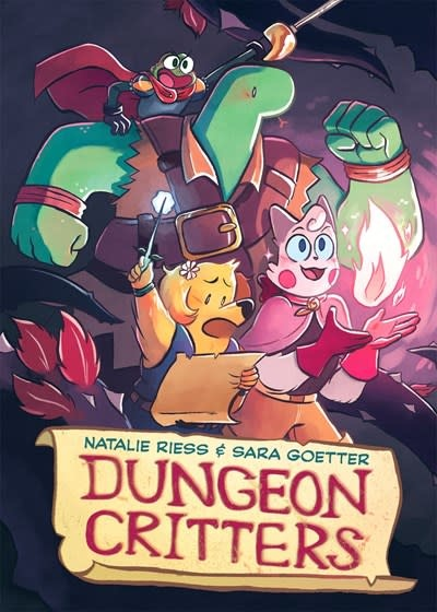 First Second Dungeon Critters