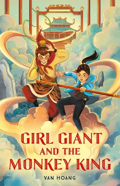 Roaring Brook Press Girl Giant and the Monkey King